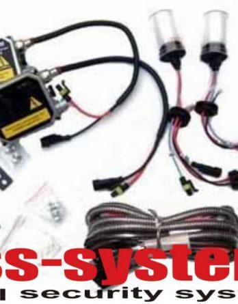 Ксенонова система за автомобил с електро-магнитен плъзгач(H.I.D kit Bi-Xenon)